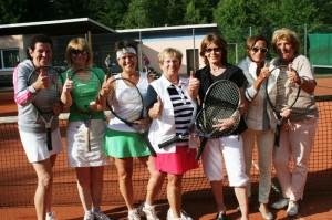 Die Frauen 50 der TSG Hinterzarten/Neustadt sind Meister